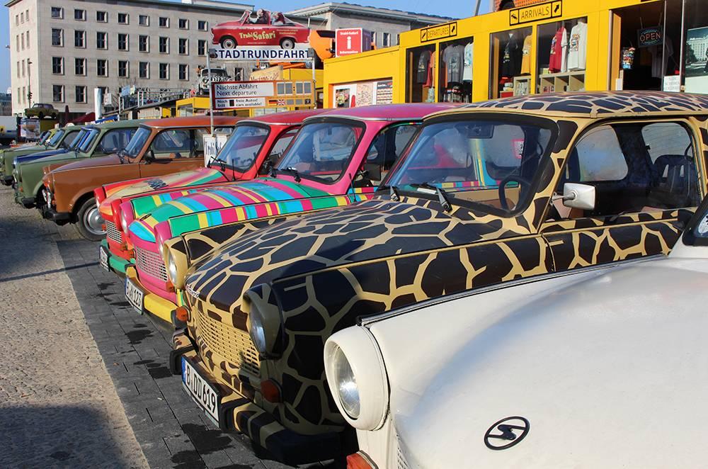 berlin trabi cars