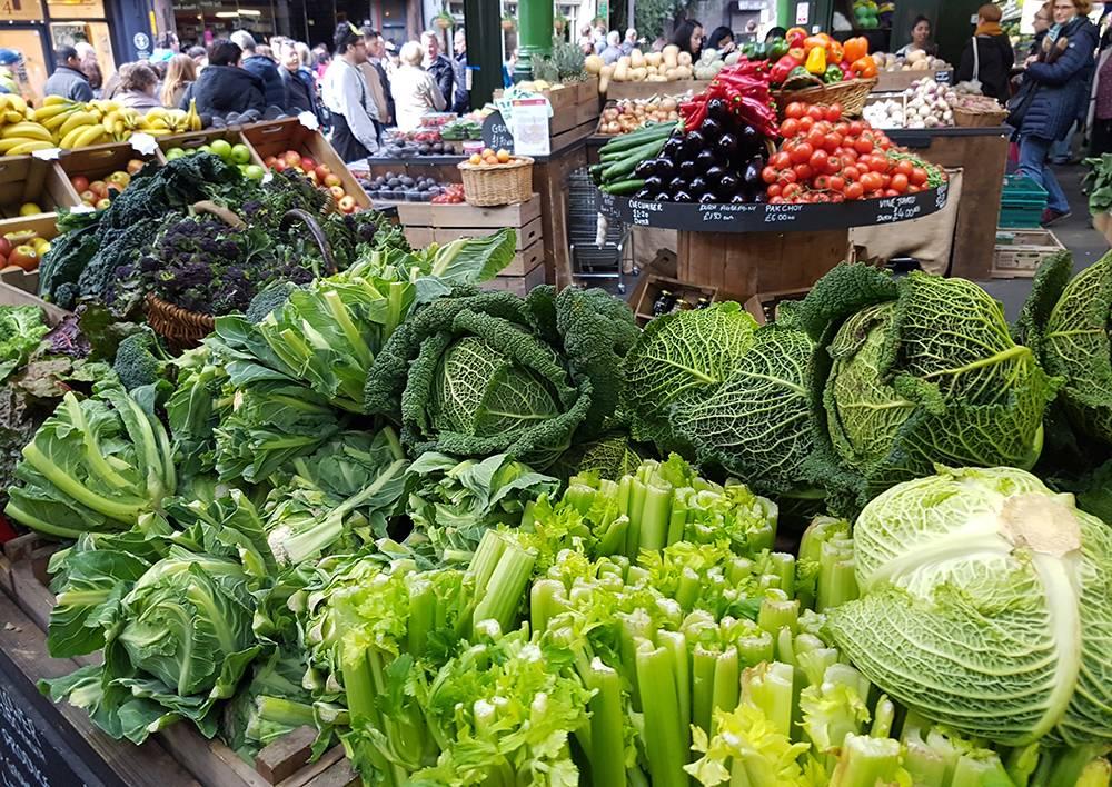 vegtables borough market