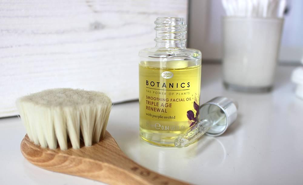 botanics boots oil