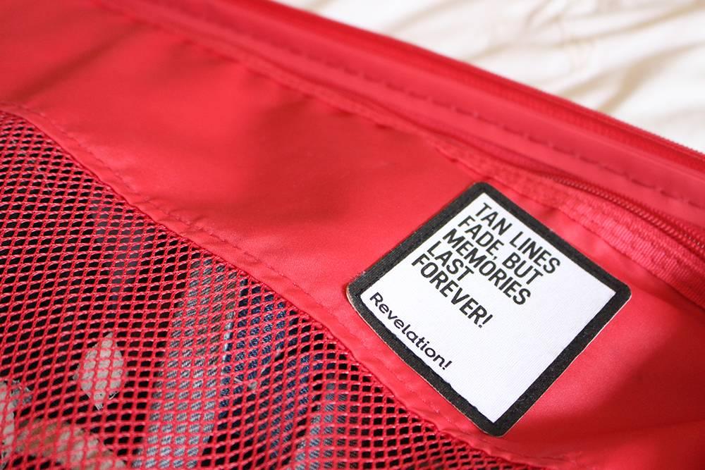 revalaiton suitcase tan