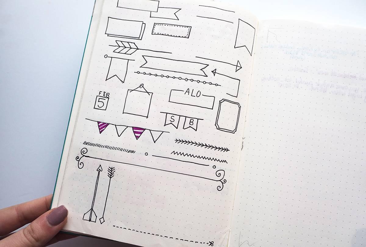 bullet-journal-drawings
