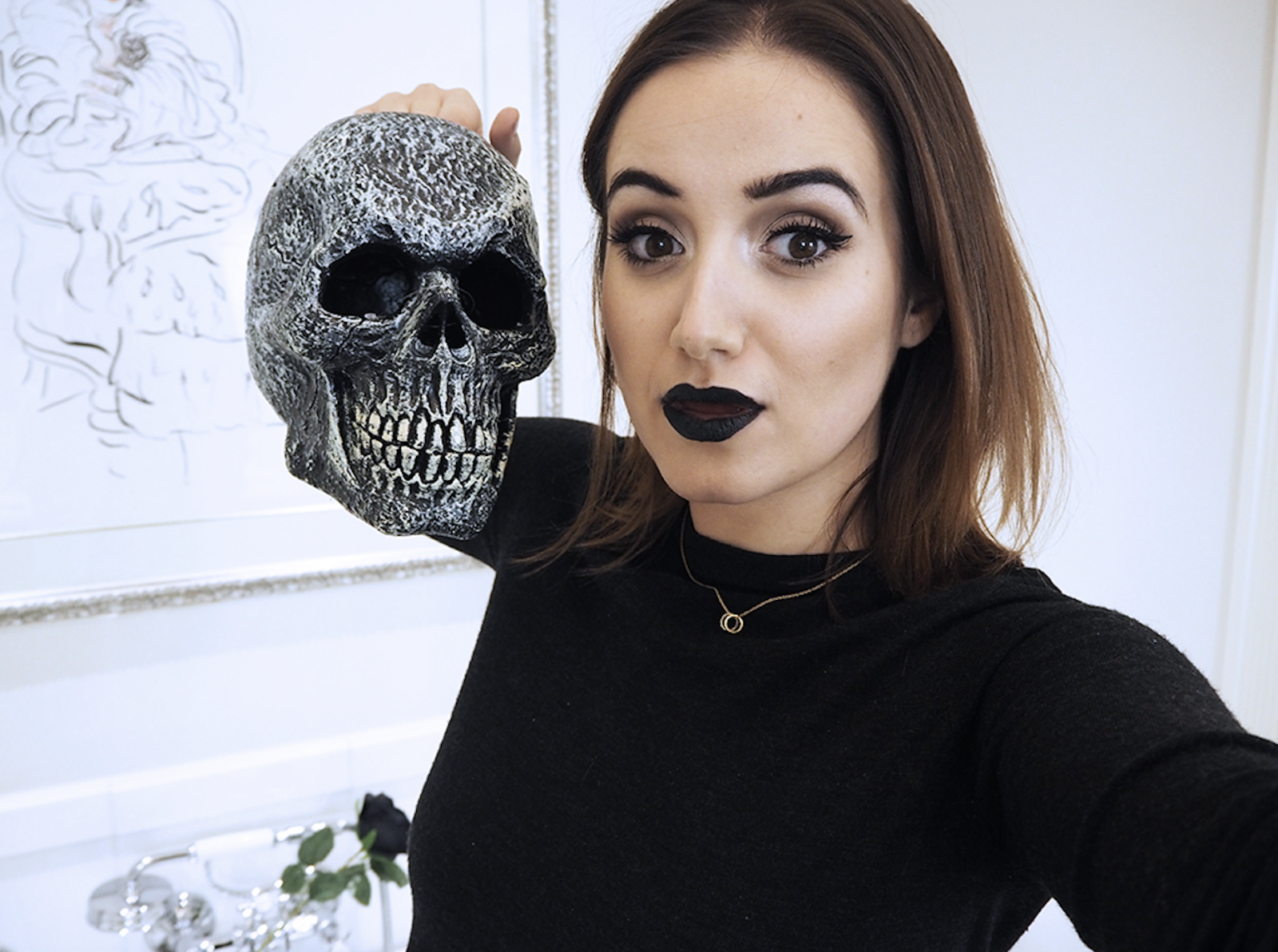 super easy affordable halloween makeup with boots uk - a little obsessed
